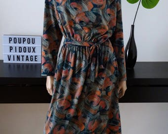 Vintage Dollhouse size 50/52 JERSEY dress