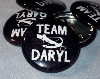 The Walking Dead | TEAM DARYL | 1-inch Buttons |