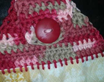 Pattern for Crocheted Towel Topper