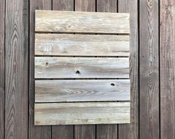 "LOT of 5 - 24"" x 5-1/4"" Weathered Wood Boards, Reclaimed Fence Wood Planks, Wide Weathered Wood, Rustic Wood Signs"