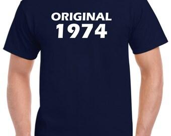 44th Birthday Shirt Gift-Original 1974