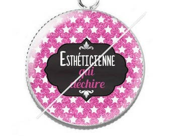 Cabochon resin cameo for beautician 5