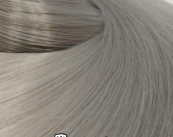 Thumper Gray Nylon Doll Hair Hank for Rerooting for Barbie® Monster High® Ever After High® My Little Pony Fashion Royalty Disney