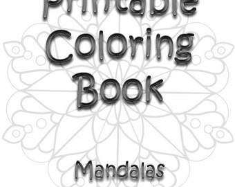 coloring book printable color pages digital coloring pages - Printable Coloring Book