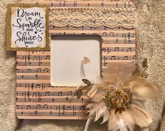 OOAK Dream Sparkle and Shine Frame