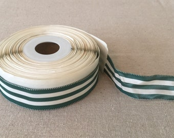 Vintage French Striped Ribbon