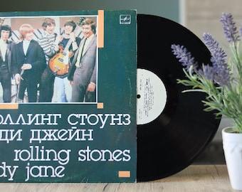Rolling Stones - Lady Jane (Vintage vinyl records sale, Rare LP, Mick Jagger albums, Rolling Stones vinyl, LP, album)