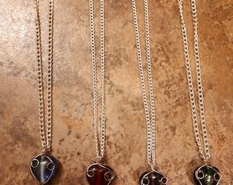 Small Heart Pendant Chain