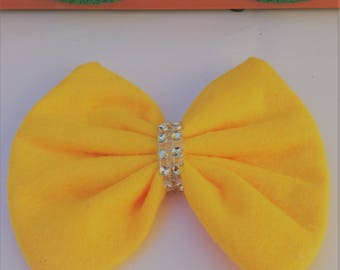 Party Bow, Yellow