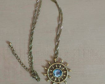 Sailing Necklace, Sailing Jewelry, Sailor Necklace, Sailor Jewelry, Nautical Jewelry, Nautical Necklace