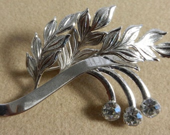 Vintage Two Sterling Brooches