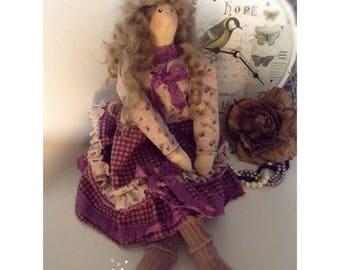 Tilda Doll Tilda Textile Doll Handmade Doll Cloth Doll Tilda Doll Monica