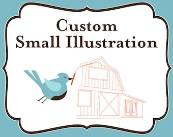 ADD ON - SMALL Custom Illustration
