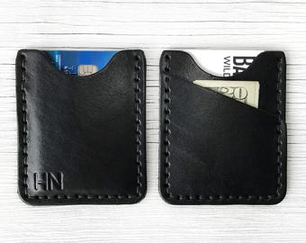 Front Pocket Wallet - BUY IT ONCE - Minimalist Personalized Name, Initials - Durable, Slim, Thin Front Pocket Wallet, Men's, Women's