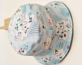 Tropical Island Baby and Childrens Summer Bucket Hat