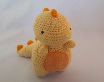 Crochet Dinosaur, T-Rex, Tyrannosaurus Rex, Dino Toy, Plushie, Stuffed Toy, Gift