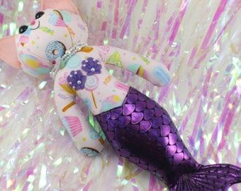 Merkitty Plush- Dessert Mermaid Cat kitty