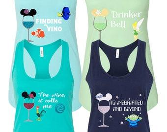 Disney Shirts for Women, Disney Shirt, Disney Drinking Shirt, Epcot Drink Around The World Shirts, Food and Wine Shirt, Disney Family Shirts