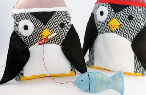 Penguin Sewing Pattern PDF Instant Download Plush Stuffed Toy ...