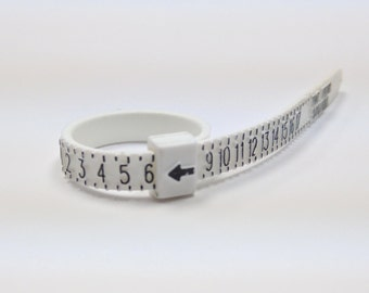 Adjustable ring sizer belt, Reusable ring sizing belt