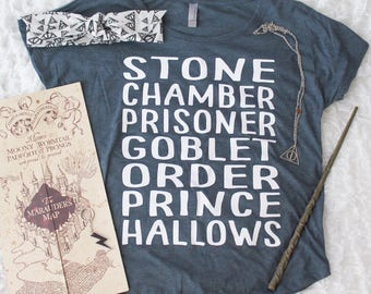 Harry Potter Shirt | Harry Potter Books Shirt | Harry Potter | Southern Sweetheart Gifts