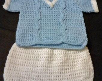 Baby's Jumper and Short Pants Set