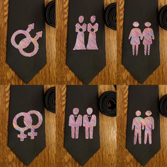 Marriage Equality Tie (lgbt, gay, lgbtq, lgbtqa, marriage, marriage equality, doma, equality, lesbian)