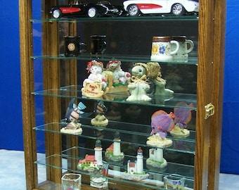 Wall Hanging Curio Cabinet Display