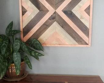 Wooden Wall Art 24x24