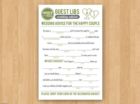 Ungewöhnlich Hochzeit Mad Libs Vorlage Fotos - Entry Level Resume ...