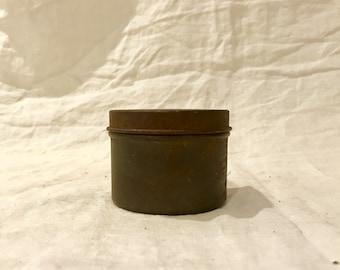 Vintage Metal Tin