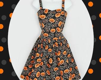 Halloween Pumpkin dress
