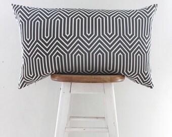 Geometric Cushion Covers | Throw Pillow Cover | Decorative Cushion | Pillow Case Sham | Grey Cushions {Pont}