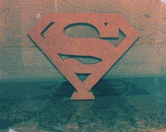 Freestanding Superman Logo