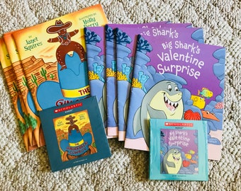 Children's Audio Books on CD with Books (TWO SETS)