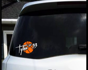 Sports Decal Etsy - Window decals for sports