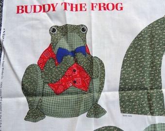Buddy The Frog Panel
