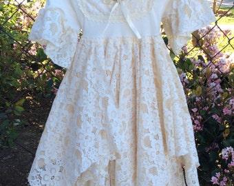OOAK fairy rag dress
