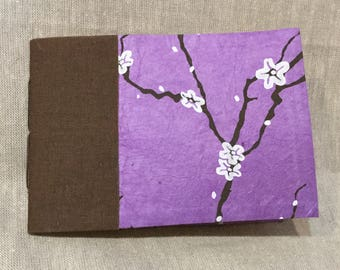 Purple Blossoms Booklet