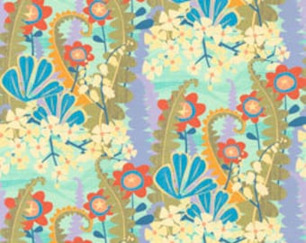 NEW, Fern Valley by Cary Phillips in Aqua, yard