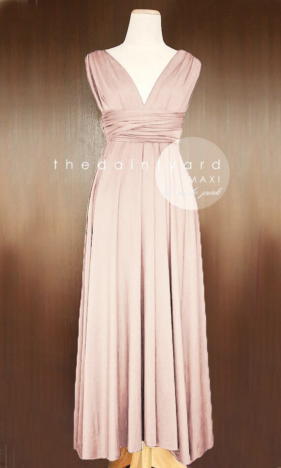 Rosewood Bridesmaid Dress Pink Wedding Guest Dress Prom