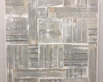 Books - layered books encaustic painting