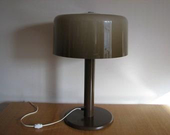 BEAUTY! Mid-Century Modern TABLE LAMP Plastic/Metal Laurel Panton Poulsen Era