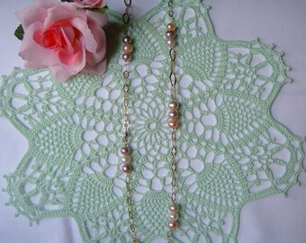 Centrino Crochet lace-light green cotton centre-Romantic house decoration-colorful crochet creation-gift Idea