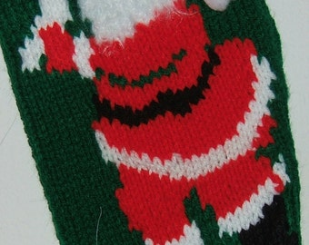 Personalized Hand Knitted Christmas stockings