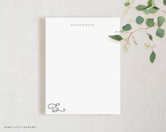 Personalized Note Card Set // Beloved // Stationery for Her