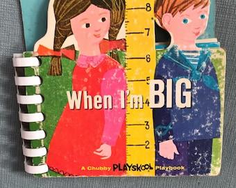 Playskool book- When I'm big book