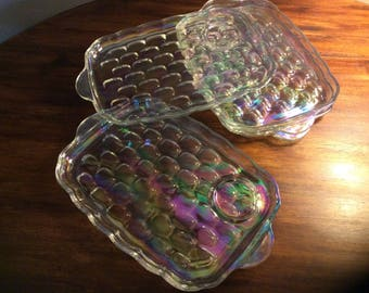 Iridescent lunch plates