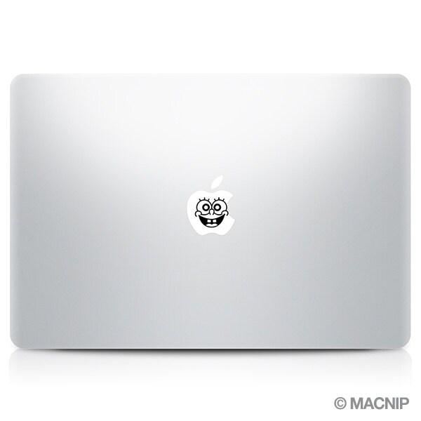 Spongebob Macbook Decal Laptop Sticker Macbook Pro Air Vinyl - Spongebob macbook decal