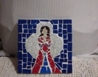 Angel mosaic, Special present